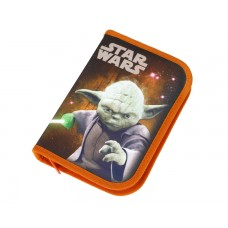 Пенал Scooli Star Wars с наполнением, 30 предметов