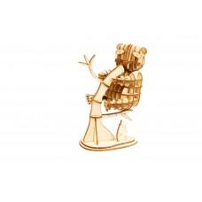 3D деревянный пазл Robotime Дикие животные - Панда