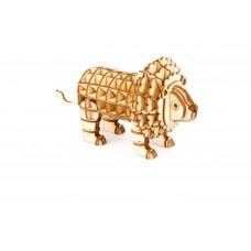 3D деревянный пазл Robotime Дикие животные - Лев