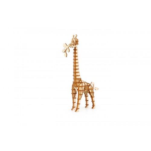 3D деревянный пазл Robotime Дикие животные - Жираф