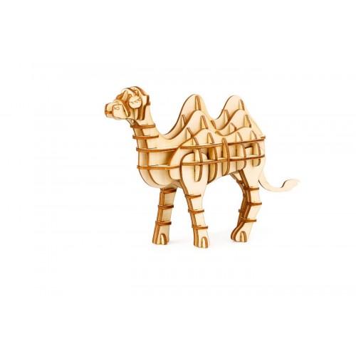 3D деревянный пазл Robotime Дикие животные - Верблюд