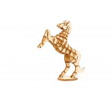 3D деревянный пазл Robotime Домашние животные - Лошадь