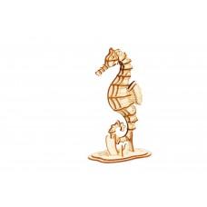 3D деревянный пазл Robotime Морские животные - Морской конек
