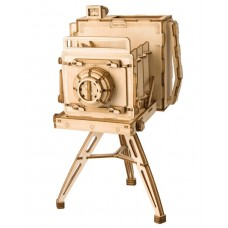 3D деревянный пазл Robotime Винтажная камера