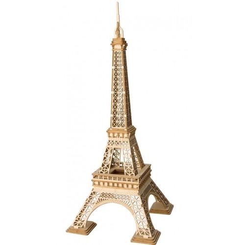 3D деревянный пазл Robotime Эйфелева башня