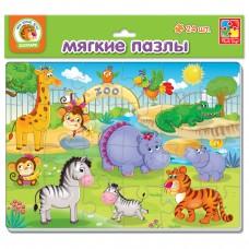 Мягкие пазлы картинки Vladi Toys - Зоопарк