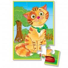 Мягкие пазлы картинки Vladi Toys - Котик
