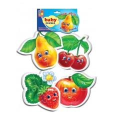Мягкие пазлы Vladi Toys - Baby puzzle Фрукты