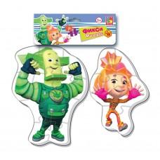 Мягкие пазлы Vladi Toys - Baby puzzle Maxi Фиксики