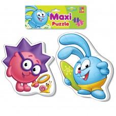 Мягкие пазлы Vladi Toys - Baby puzzle Maxi Смешарики