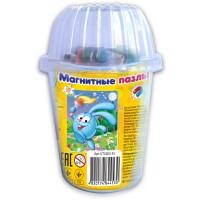 """Мягкие магнитные пазлы Vladi Toys в стакане - Смешарики """"Крош"""""""