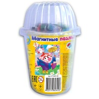 """Мягкие магнитные пазлы Vladi Toys в стакане - Смешарики """"Нюша"""""""