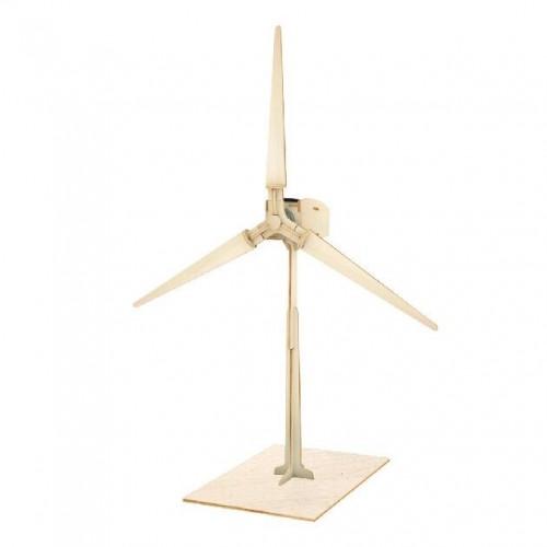 3D деревянный пазл Robotime Солнечные механизмы Ветряная турбина